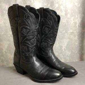 Ariat NWOT black cowboy boots